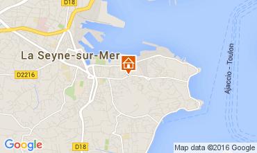 Carte La Seyne sur Mer Appartement 62221
