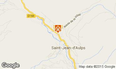 Carte Saint Jean d'Aulps- La Grande Terche Chalet 70306
