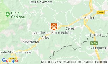 Carte Amélie-Les-Bains Studio 118836