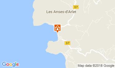 Carte Anses d'Arlet Appartement 90232