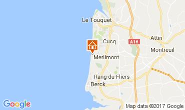 Carte Le Touquet Appartement 111547
