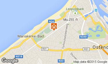 Carte Ostende Maison 66677