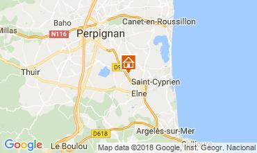 Carte Collioure Gite 114093