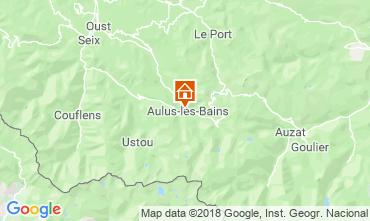 Carte Aulus les Bains Studio 117461