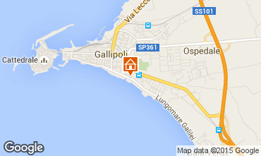Carte Gallipoli Appartement 99600