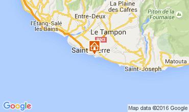 Carte Saint Pierre (R�union) Studio 104037