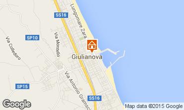 Carte Giulianova Appartement 96791