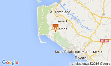 Carte La Palmyre Mobil-home 6775