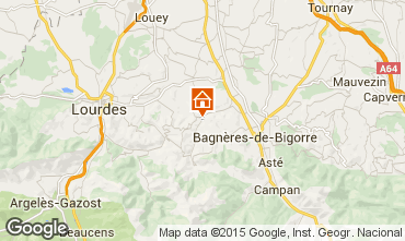 Carte Bagnères de Bigorre Maison 92839