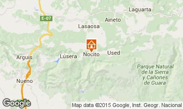 Carte Huesca Chambre d'hôte 41565