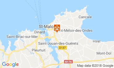 Carte Saint Malo Maison 116211