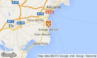 Carte Alicante Appartement 77401