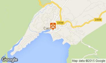 Carte Cassis Appartement 83306