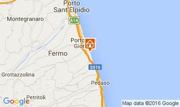 Carte Porto San Giorgio Bungalow 103911