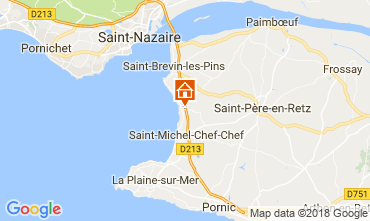 Carte Saint Brevin les Pins Mobil-home 112356