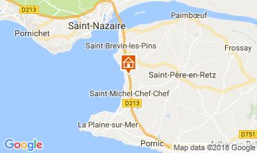 Carte Saint Brevin les Pins Mobil-home 112356
