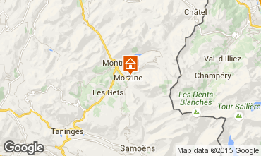 Carte Morzine Chalet 43065