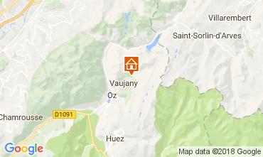 Carte Alpe d'Huez Chalet 113371