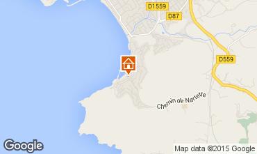 Carte Saint Cyr sur Mer Appartement 76326