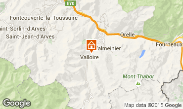 Carte Valloire Appartement 97653