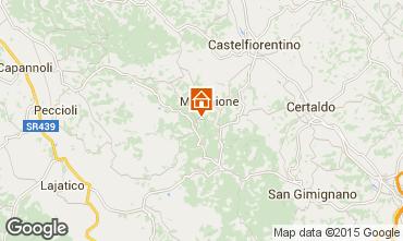 Carte Montaione Gite 94892
