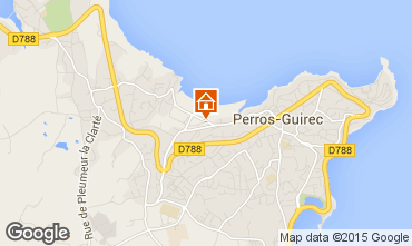 Carte Perros-Guirec Appartement 7423