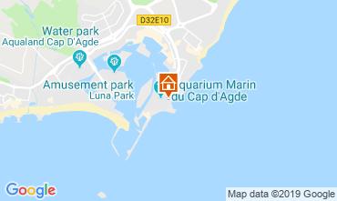 Carte Cap d'Agde Studio 119230