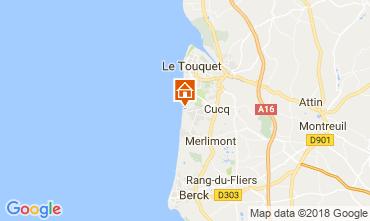Carte Le Touquet Appartement 112814