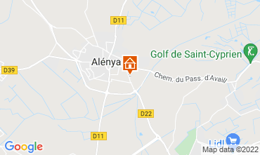 Carte Saint Cyprien Villa 116936