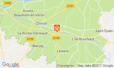 Carte Chinon Maison 112374
