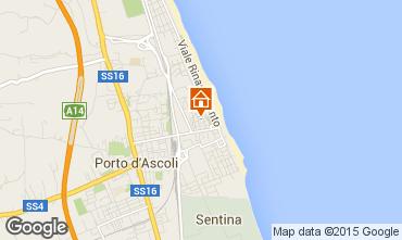 Carte San Benedetto del Tronto Appartement 88110