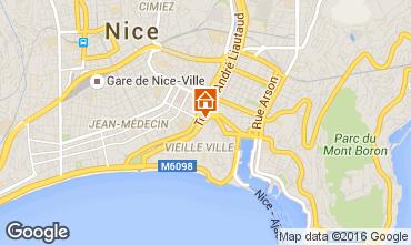 Carte Nice Appartement 102844