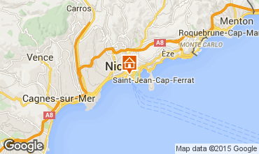 Carte Nice Appartement 81032
