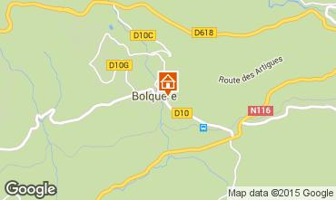 Carte Bolquère Pyrenées 2000 Appartement 67250