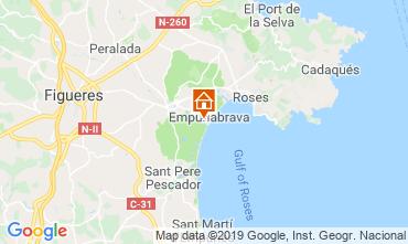Carte Empuriabrava Villa 119465