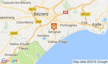Carte Sérignan Maison 114493