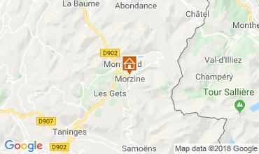 Carte Morzine Chalet 117478
