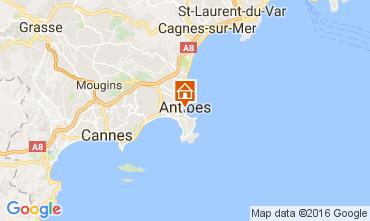 Carte Antibes Appartement 107452