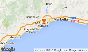 Carte Marbella Appartement 100767