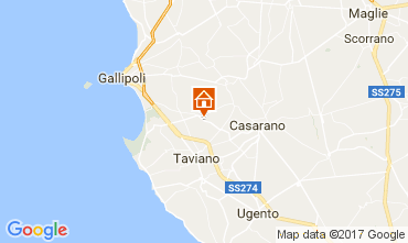 Carte Gallipoli Villa 108209