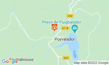 Carte Puyvalador Chalet 116935