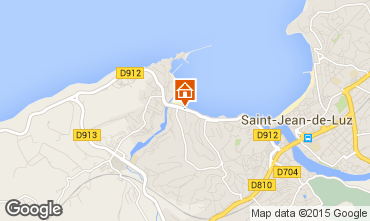Carte Saint Jean de Luz Appartement 63757