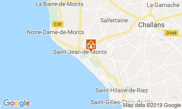 Carte Saint Jean de Monts Mobil-home 118961
