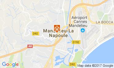 Carte Mandelieu la Napoule Studio 67791