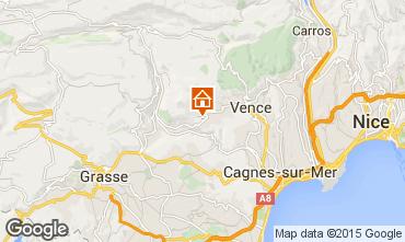 Carte Saint Paul de Vence Villa 84287
