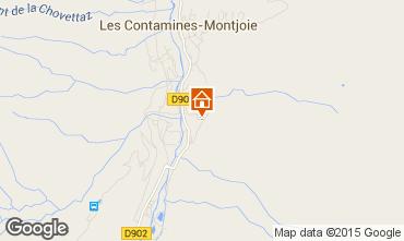 Carte Les Contamines Montjoie Chalet 941