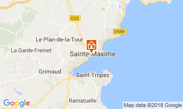 Carte Sainte Maxime Appartement 115107