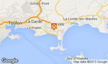 Carte Hyères Appartement 5821