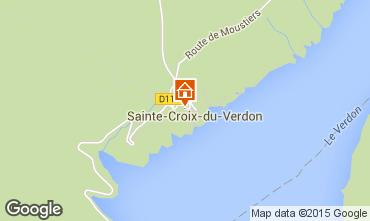 Carte Sainte-Croix-du-Verdon Studio 82027