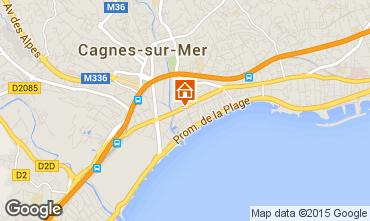 Carte Cagnes sur Mer Appartement 88627